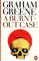Book cover for Graham Greene's A Burnt-out Case in the South Manchester, Chorlton, and Didsbury book group