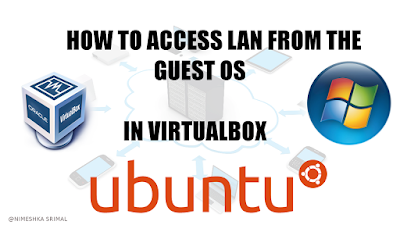 Connect to LAN in VirtualBox in Ubuntu