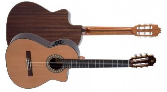 Guitarra española electrificada Admira Virtuoso. Musical Domínguez