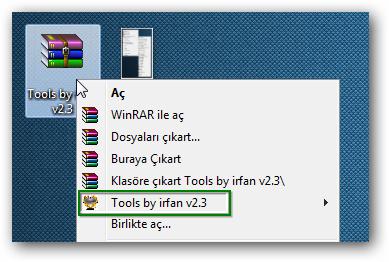 Tools by irfan v2.3 - Katılımsız Program
