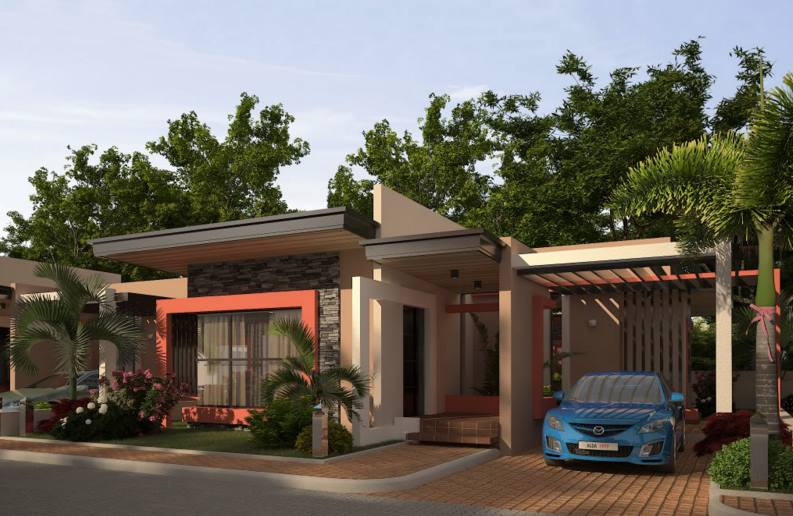 contemporary house designs 2016 rendition - bahay ofw