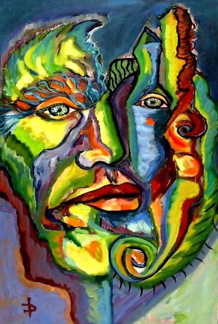 Румынский художник-экспрессионист. Daniela Isache
