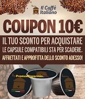 Logo Il Caffè Italiano: capsule con sconto del 52%