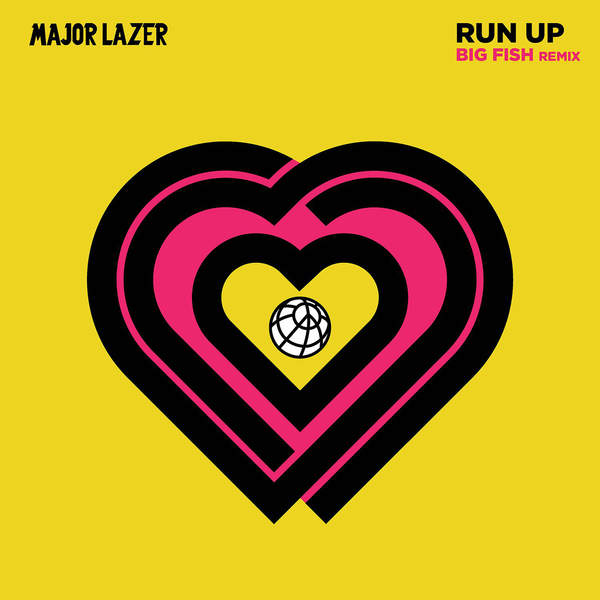 Major Lazer - Run Up (feat. PARTYNEXTDOOR & Nicki Minaj) [Big Fish Remix] - Single Cover