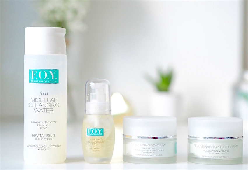FOY Fountain of Youth Skin care