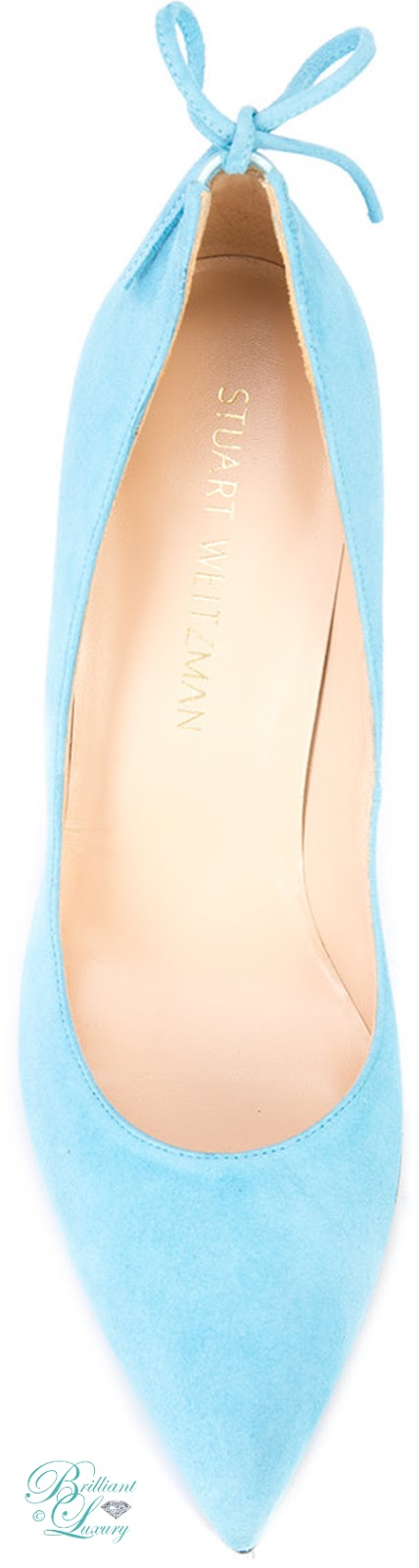 Brilliant Luxury ♦ Stuart Weitzman Peekabow Pumps