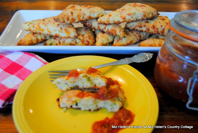 Buttermilk Jalapeno Scones at Miz Helen's Country Cottage