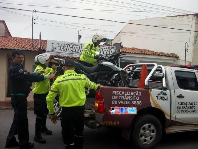 Moto roubada em Forquilha é localizada em Tianguá