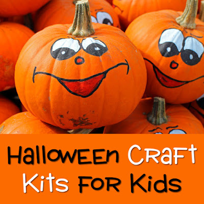 Craft kits sets for kids children at Halloween