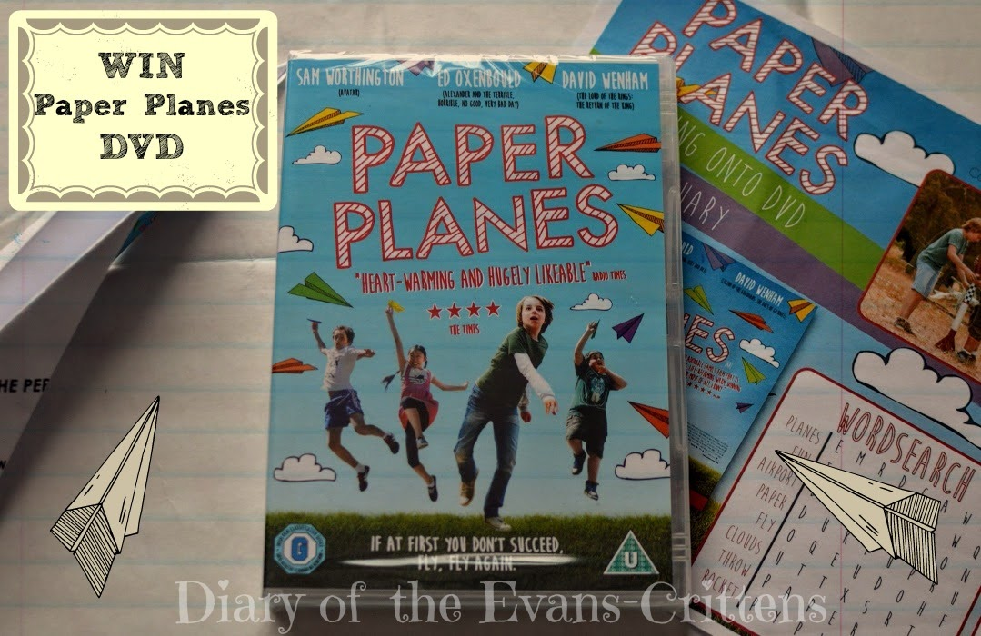 , Win A Copy of Paper Planes DVD:  The Perfect Family Film