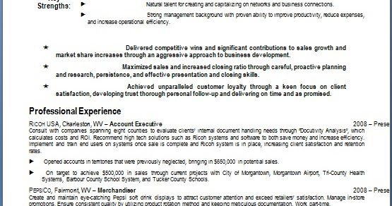 Account Executive Resume Details Format In Word Free Download