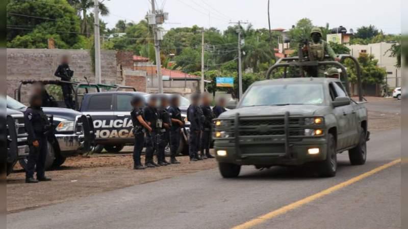 Deja 6 muertos enfrentamiento entre Sicarios en Michoacán