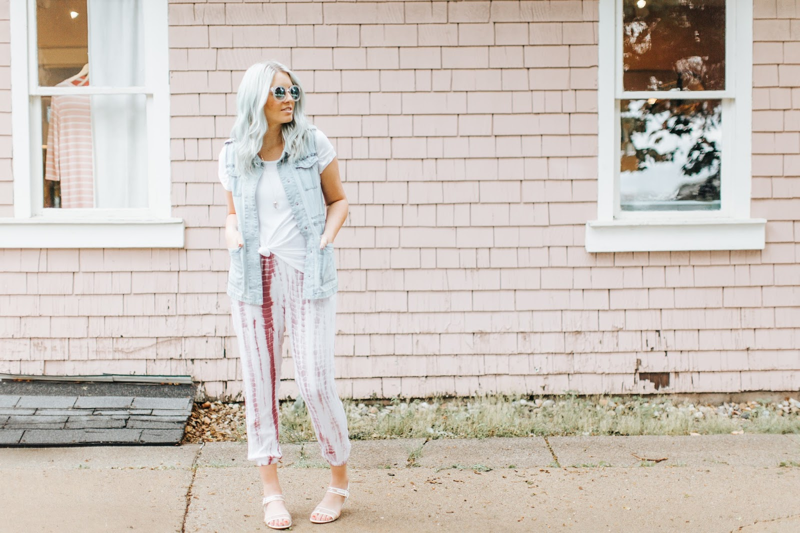 Harper Trends, Tie Dye Pants, Spring Outfit