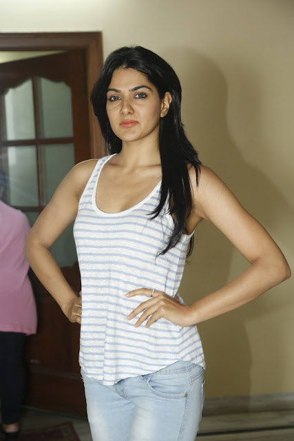 Sakshi Chaudhary Latest Pics At James Bond Interview