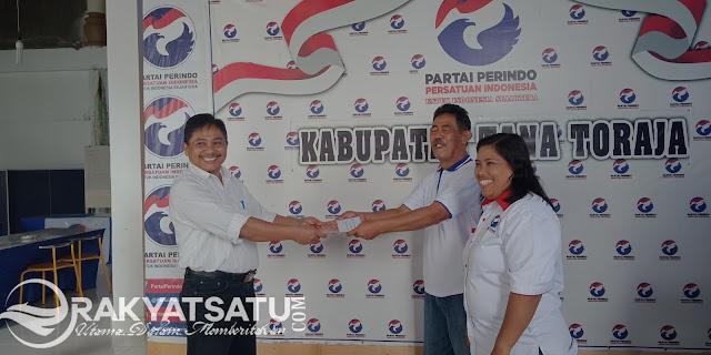 Mantan Kepala Pertanahan, Maju di DPRD Tana Toraja Bersama Perindo