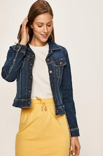 Geaca de primavara din jeans • Lee