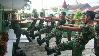 Dilarang Obesitas, Anggota TNI Koramil 05/Kesesi Kerap Lakukan Ini, Meskipun Bulan Puasa