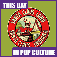 Santa Claus Land opened on August 3, 1946.