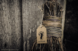 Aker Dantzaria Witch Broomstick Besom Broom by Victoria Francés