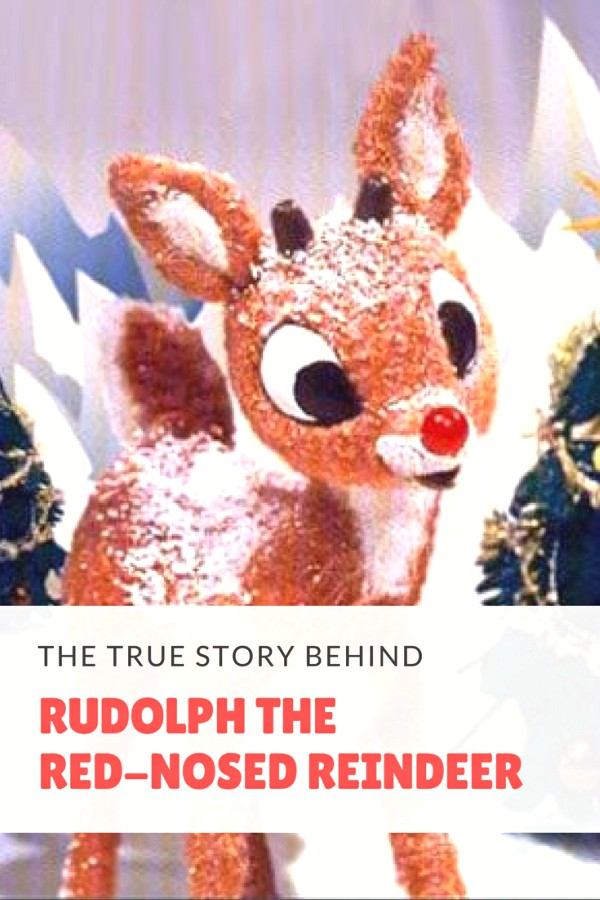 story behind rudolph red-nosed reindeer