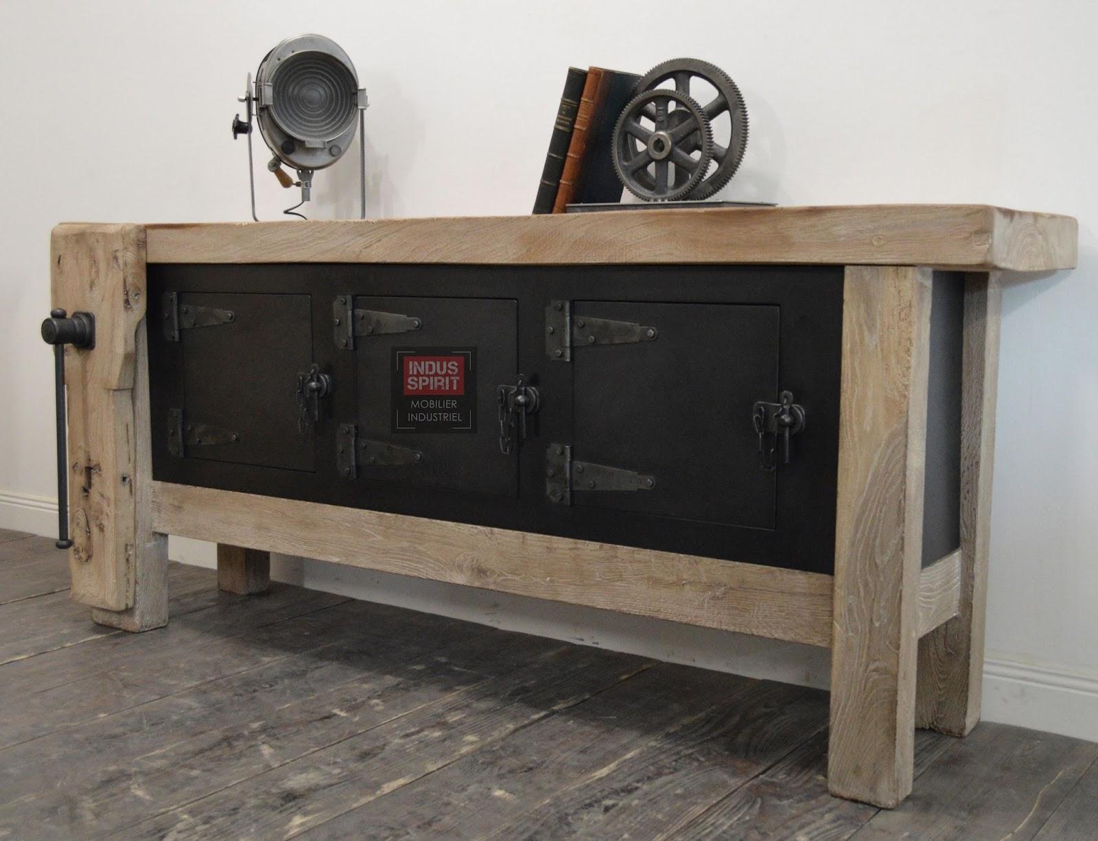 etabli ancien vritable meuble de superbe tabli ancien. Black Bedroom Furniture Sets. Home Design Ideas