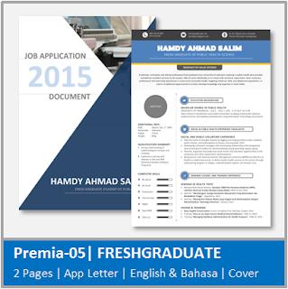 Contoh CV Fresh Graduate Jurusan Kesehatan Masyarakat