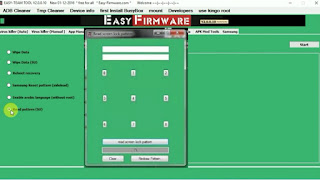 Easy Firmware Tool 2020 | Remove frp | wipe data | Read Pattern