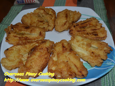 Cheesy Maruya, Fried Banana no Cheese