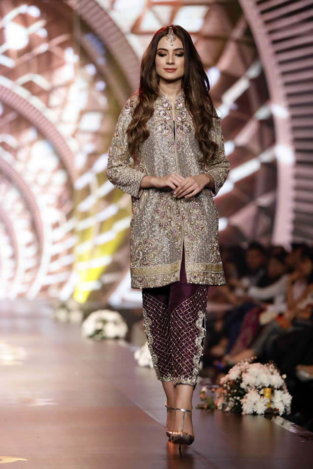 Lavender Field Colelction By Asifa and Nabeel at BCW 2016