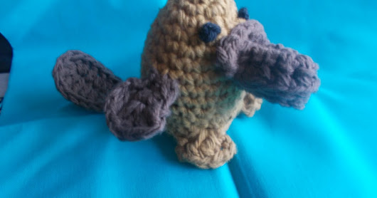 Platypus Easter Egg Cozy
