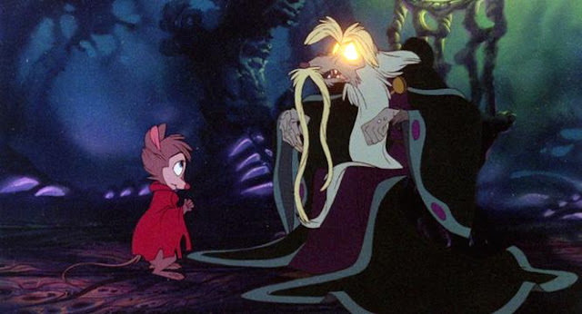 Secret of NIMH 1982 weird animation