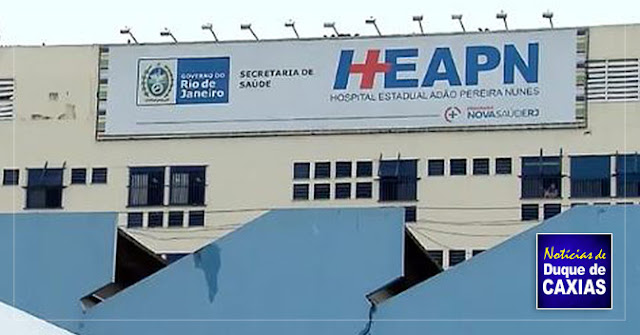 Pacientes sofrem com goteiras, calor e superlotação em Hospital em Duque de Caxias