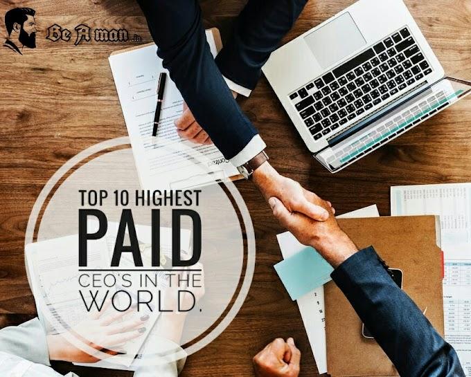 Top 10 Highest paid CEO's in the World | दुनिया के 10 सबसे ज्यादा सैलरी पाने वाले CEO by BeaMan.in