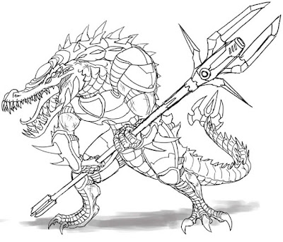 Overlords Gator Gladiator Concepts picture 2