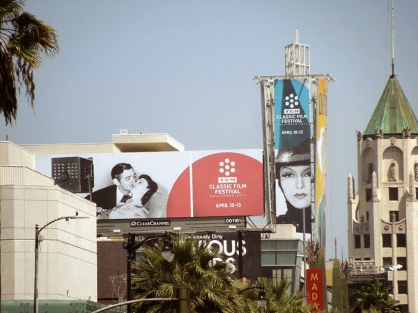 2014 TCM Classic Film Festival billboards
