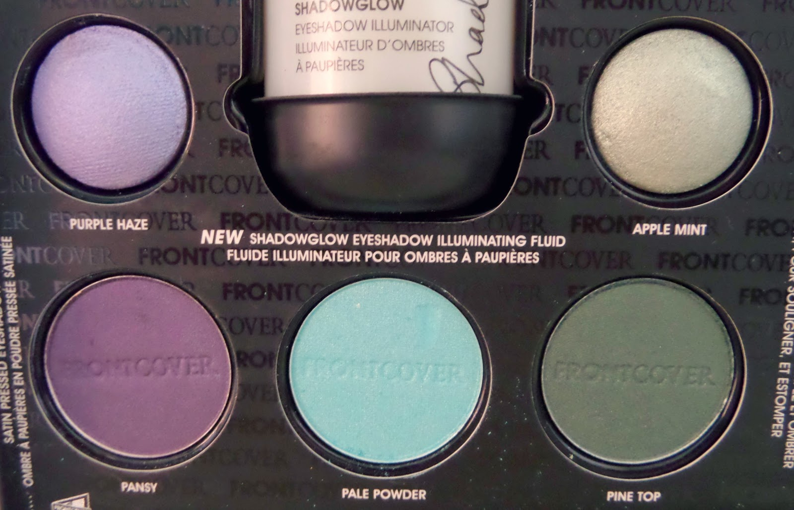 Front Cover Eye Colour Revolution Makeup Set Colours