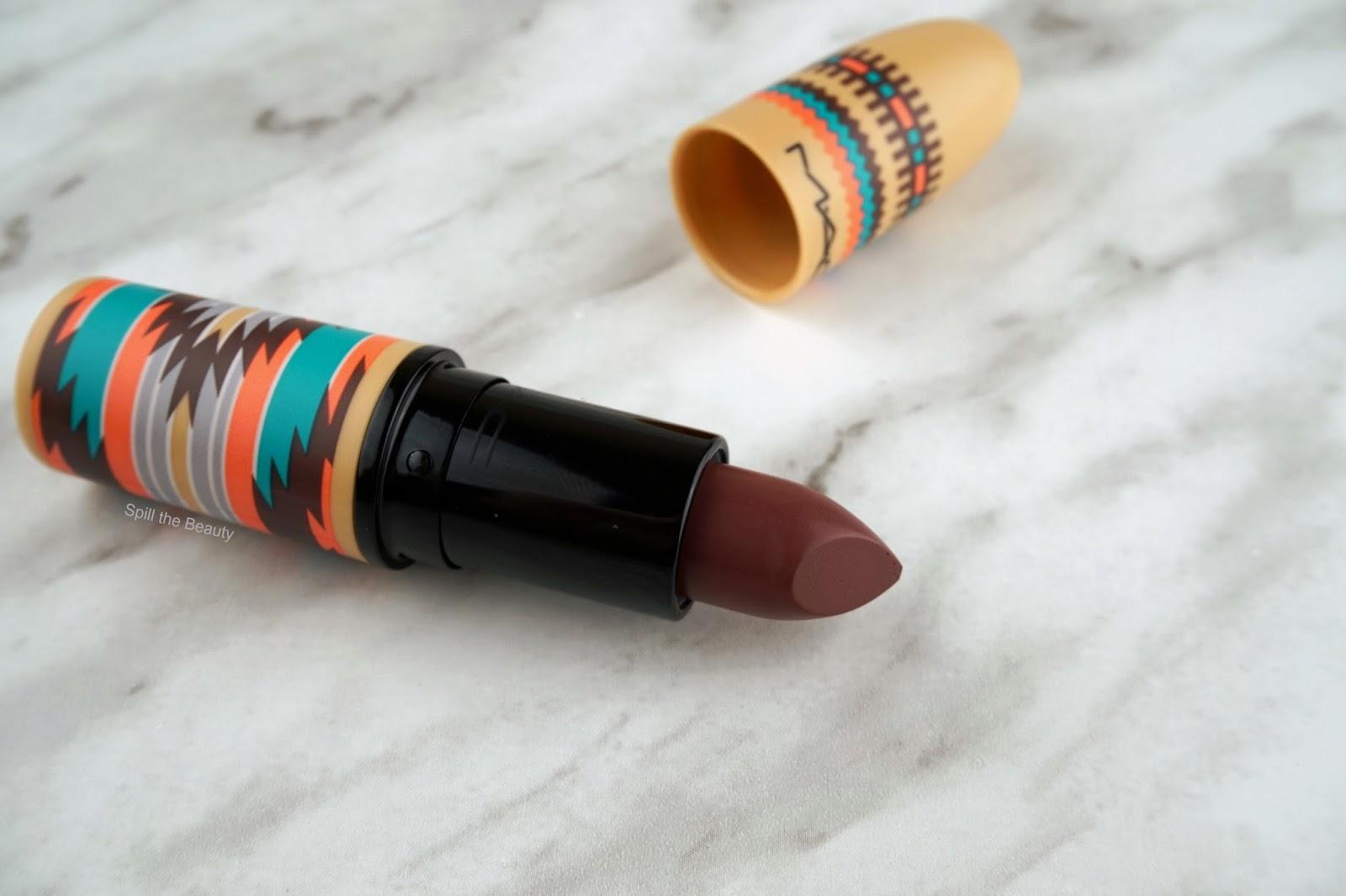 mac lipstick hot chocolate 2016