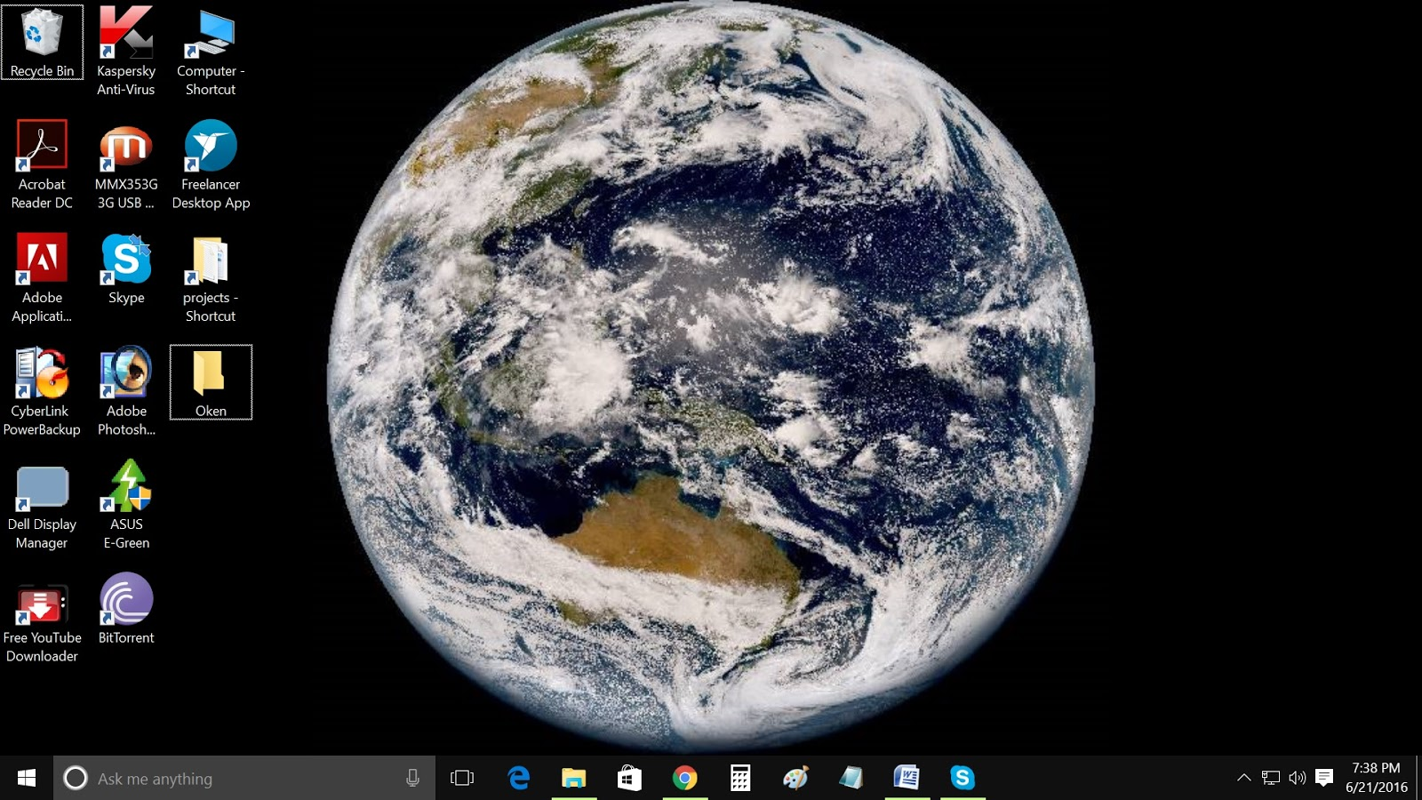 Set RealTime Earth Image As Your Desktop Background Techiax - Real time satellite view of earth