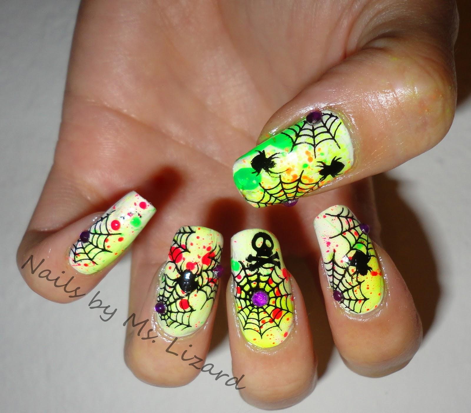 Nails by Ms. Lizard: Halloween Nail Art: recap