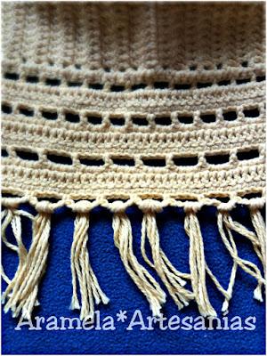 base terminada del top crochet