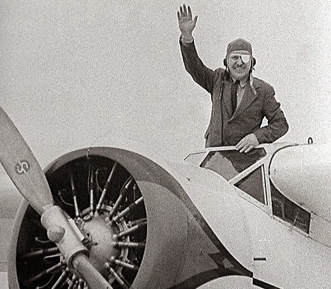 Bespectacled Birthdays: Wiley Post, C.1933