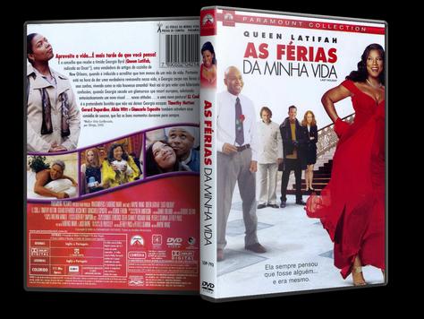 Capa DVD As Férias da Minha Vida (Oficial)