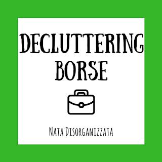 decluttering di primavera 2018