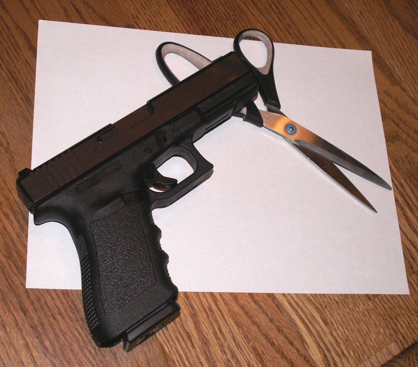 how to make paper penguin gun