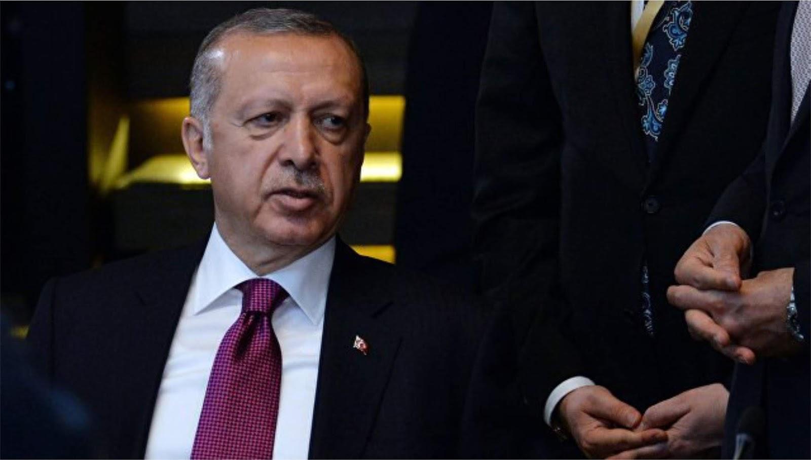 Erdogan memprotes Trump atas dukungan AS untuk Kurdi di Suriah