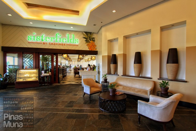 Sisterfields restaurant at Summit Ridge Tagaytay