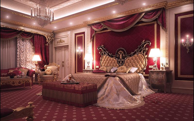 10 mẫu phòng ngủ phong cách Royal sang trọng và đẳng cấp nhất4
