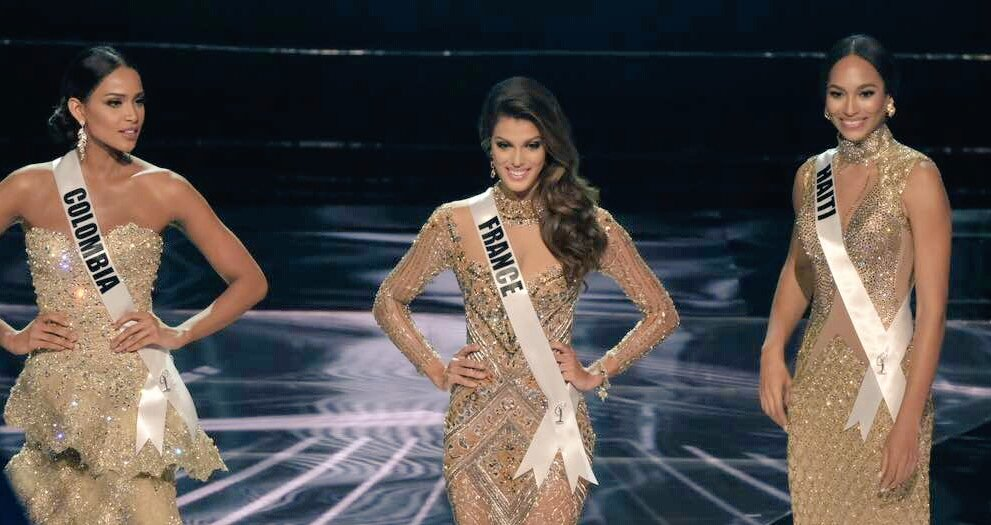 Top 3 Miss Universe 2016