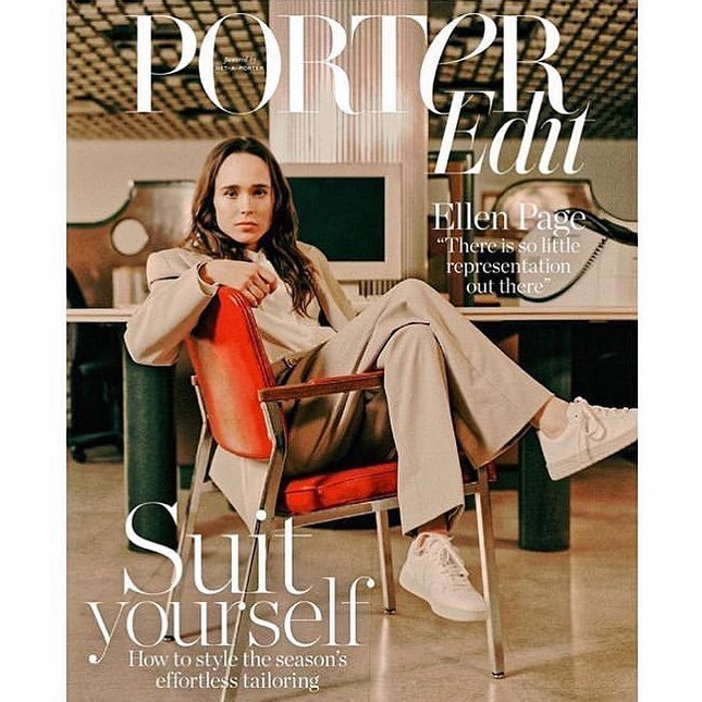 Ellen Page covers Porter Edit