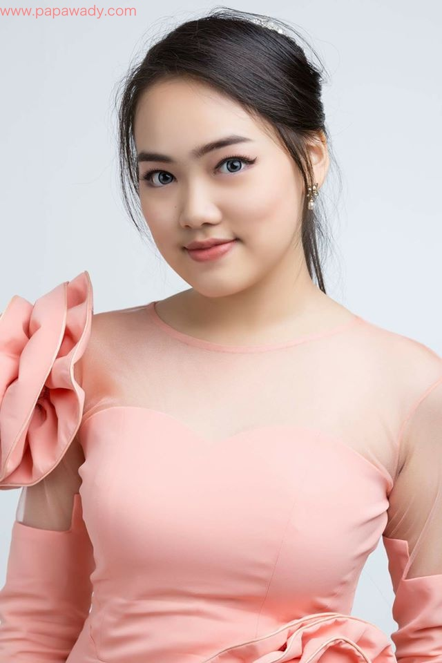 Yoon Yoon Studio Fashion Photoshoot In Pink Dress